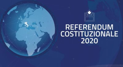 REFERENDUM 2020 – ELETTORI TEMPORANEAMENTE ALL'ESTERO