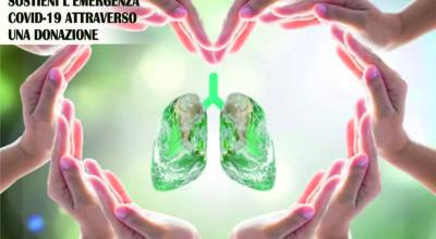EMERGENZA EPIDEMIOLOGICA SOSTIENI L'EMERGENZA ATTRAVERSO UNA DONAZIONE